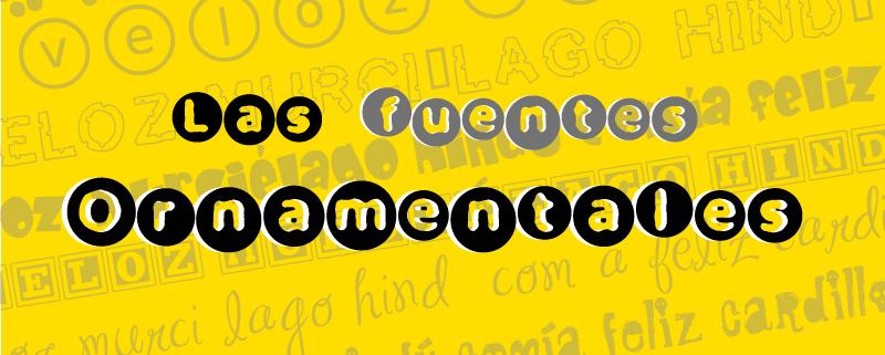 Ejemplos Fuentes Fantasy Ornamental
